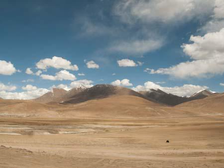 Scenery on the Qinghai to Tibet Railway