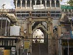 Entrance to a Hindu temple in the heart of Jodhpur