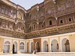 Daulat Khana Chowk inside Mehrangarh Fort