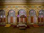 Phul Mahal (Flower Palace), whose 19th-century wall paintings depict the 36 moods of classical ragas
